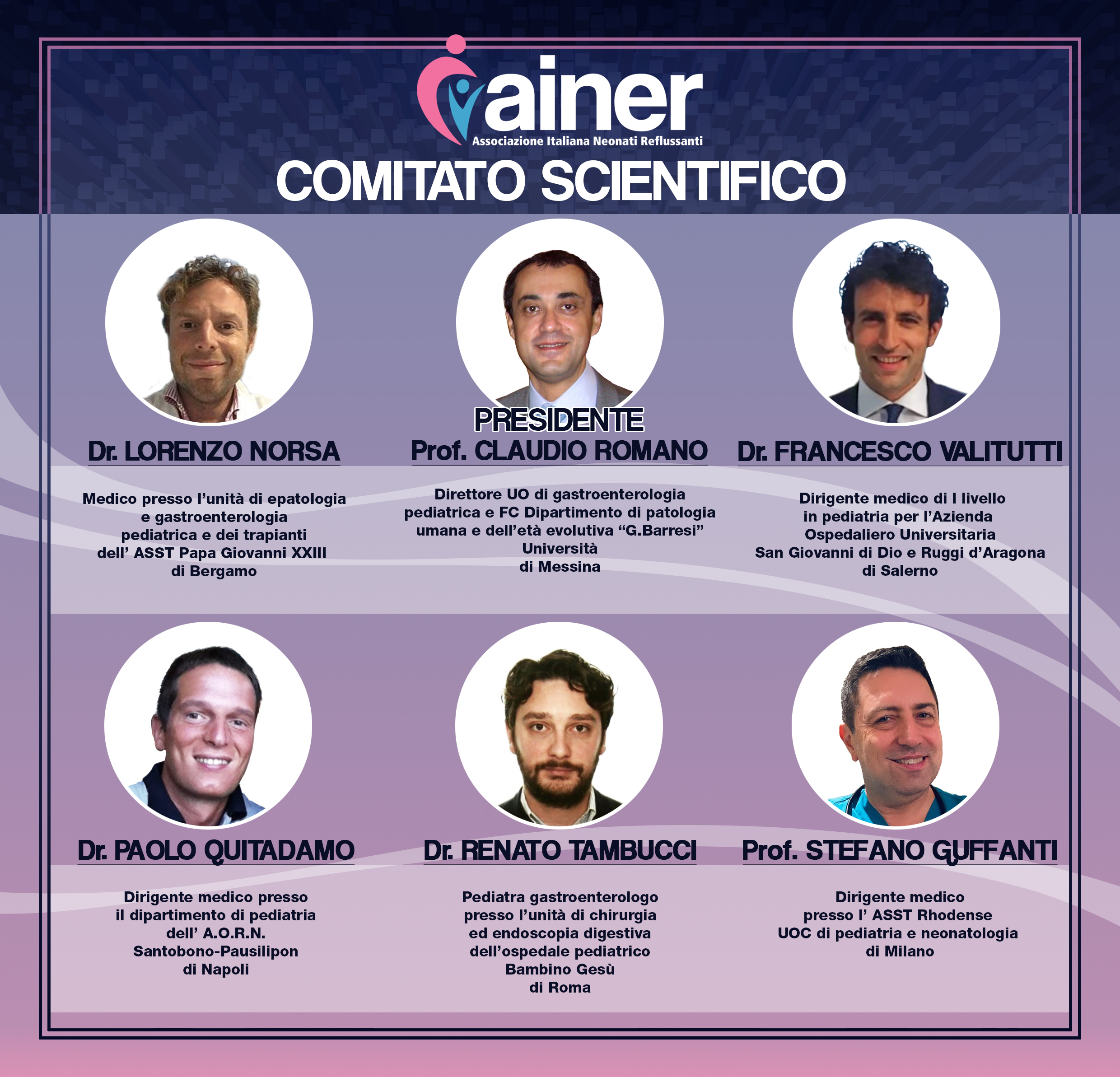 COMITATO SCIENTIFICO AINER